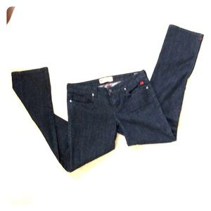 DC Straight Leg Dark Blue Jeans 28
